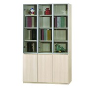 Kingston 3 Door Bookshelf