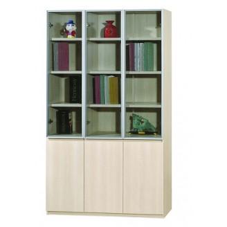 Kingston 3 Door Bookshelf