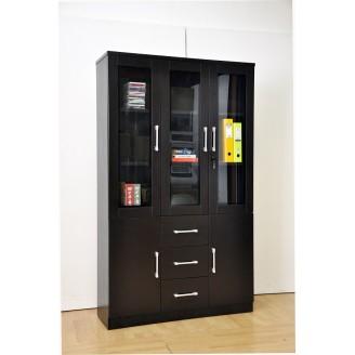 Zanne 3 Door Bookshelf