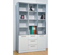 Samuel 3 Door Bookshelf