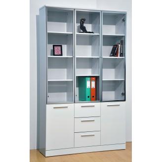 Samuel 3 Door Bookshelf