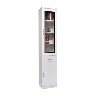 Tracy 1 Door Bookshelf