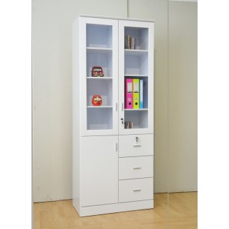 Candice 2 Door Bookshelf