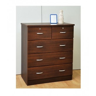 Stephon Chest of Drawer (Light Walnut)