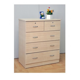Stephon Chest of Drawer (Whitewash Color)