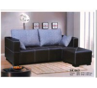 SKDB 66388 Sofa with Ottoman