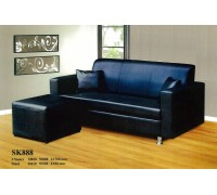 SKDB 8888 Three Seater Sofa with Ottoman