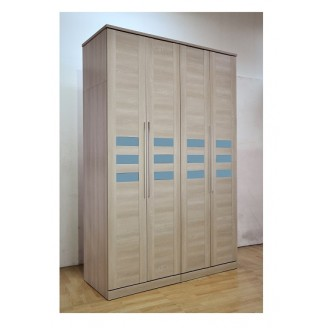Klinton  4 Door Wardrobe with Top