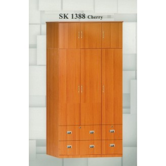 SKDB 1388 Ten Door Wardrobe