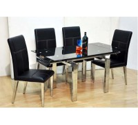 DB 10109 Extendable Dining Table with 4 Chairs