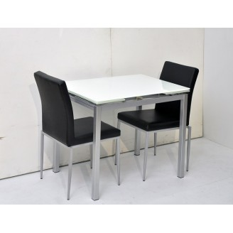 Johnson Dining Table with 2 chairs