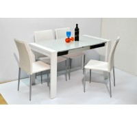 Timbell Dining Table Set (with 4 chairs)