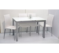 Jaime Extendable Dining Table with 4 Chairs