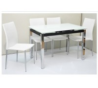 Gaylen Dining Table Set with 4 chairs